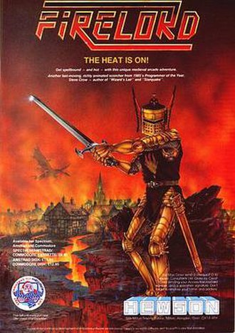 Firelord (video game) - Image: Firelord poster