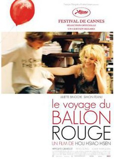 <i>Flight of the Red Balloon</i> 2007 film directed by Hou Hsiao-Hsien