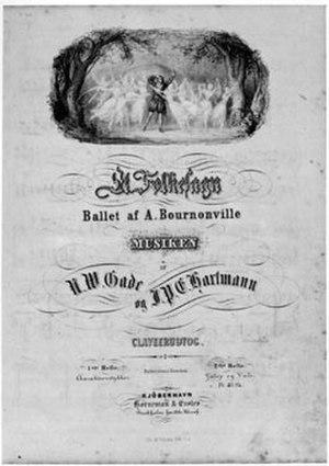 A Folk Tale - Sheet music Et Folkesagn