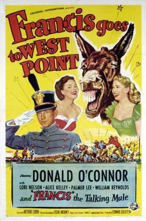 Francis Goes to West Point - Theatrical release poster