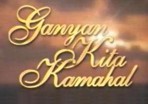 Ganyan Kita Kamahal - Image: Ganyankitakamahaltit lecard