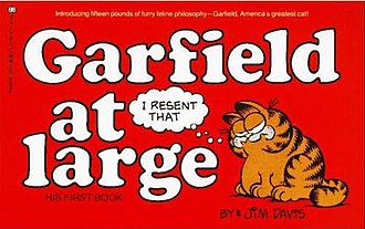 Garfield At Large: His First Book - Garfield at Large, 1980 edition.
