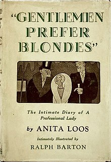 Gentlemen Prefer Blondes (novel) - Wikipedia