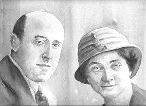 George Shepherd, 1st Baron Shepherd - George Robert Shepherd, 1st Baron Shepherd and his wife, Ada