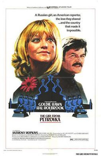 The Girl from Petrovka - 1974 movie poster