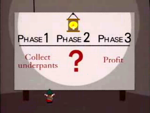 Gnomes' three phase business plan