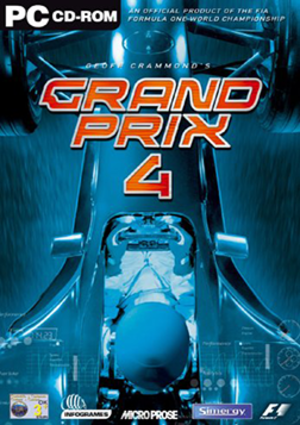 Grand Prix 4 - Image: Grand Prix 4 Coverart