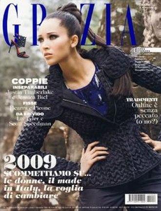 Grazia - Image: Grazia (magazine) January 2009 cover
