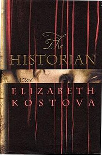 <i>The Historian</i> 2005 novel by Elizabeth Kostova