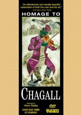 Homage to Chagall: The Colours of Love - DVD cover