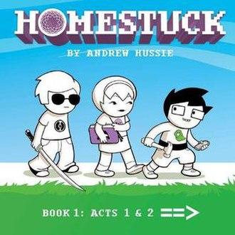 Homestuck - Image: Homestuck Book One Rerelease