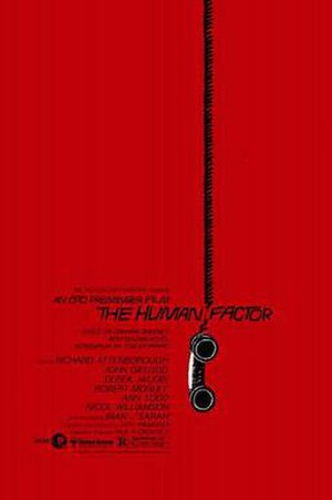The Human Factor (1979 film) - Theatrical release poster by Saul Bass