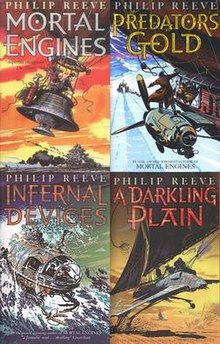 Image result for mortal engines philip reeve