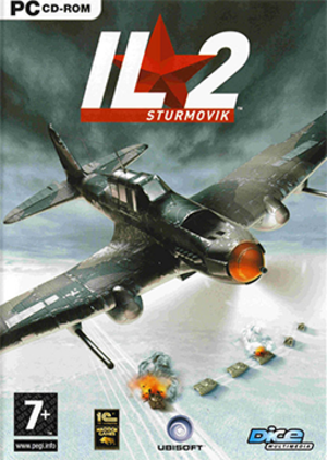IL-2 Sturmovik (video game) - Image: IL 2 Sturmovik Coverart