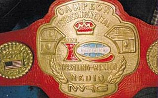IWRG Intercontinental Middleweight Championship Professional wrestling championship by International Wrestling Revolution Group