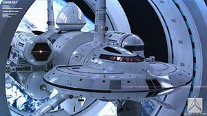 IXS Enterprise - The IXS Enterprise as imagined by Mark Rademaker