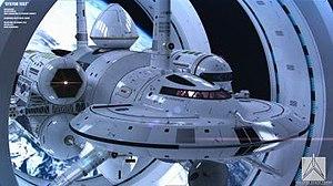 IXS Enterprise - The IXS Enterprise as imagined by Mark Rademaker