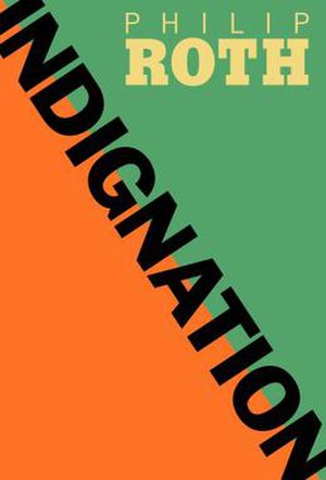 Indignation (novel) - First edition cover