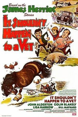 It Shouldn't Happen to a Vet - British cinema poster