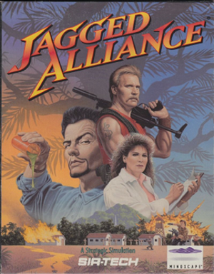 Jagged Alliance - Image: Jagged Alliance cover