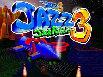 Jazz Jackrabbit - Jazz Jackrabbit 3 title screen
