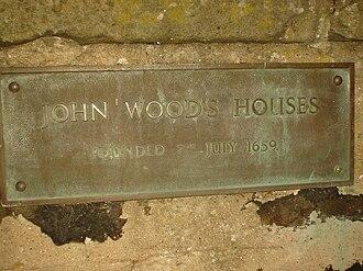 Upper Largo - Plaque at John Wood's Hospital