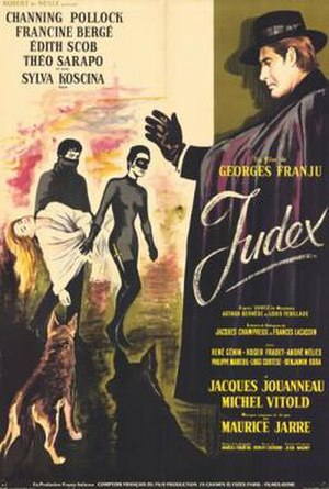 Judex - Poster from the 1963 ''Judex'' remake