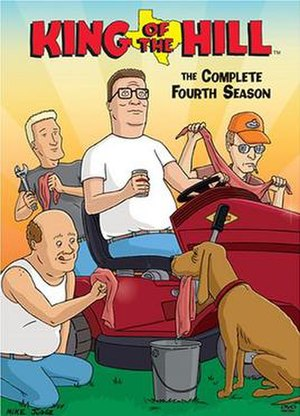 King of the Hill (season 4) - DVD cover