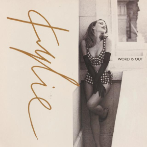 Word Is Out (song) - Image: Kylie Minogue Word Is Out single cover