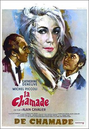 La Chamade (film) - Theatrical release poster
