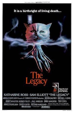 The Legacy (1978 film) - Theatrical poster