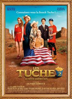 <i>Les Tuche 2</i> 2016 film by Olivier Baroux