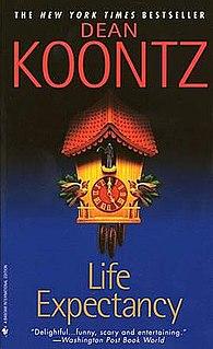 <i>Life Expectancy</i> (novel) novel by Dean Koontz