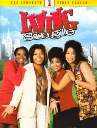 Living Single - First season DVD cover