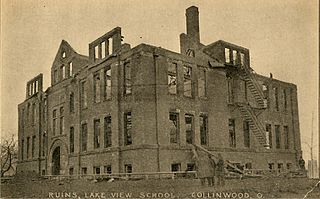 Collinwood school fire Conflagration