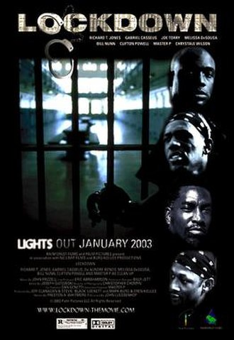 Lockdown (2000 film) - Theatrical release poster