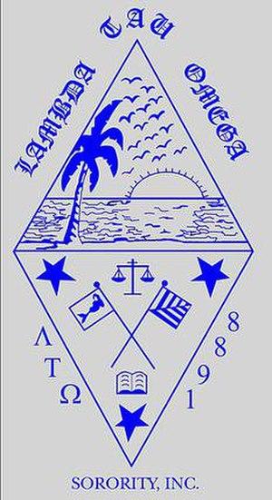 Lambda Tau Omega - Image: Lto shield