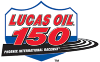 Lucas Oil 150 at Phoenix logo.png