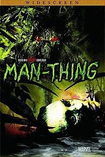 <i>Man-Thing</i> (film) 2005 television film directed by Brett Leonard