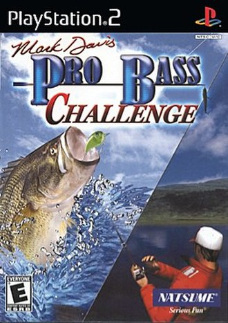 Mark Davis Pro Bass Challenge - North American cover art for PS2