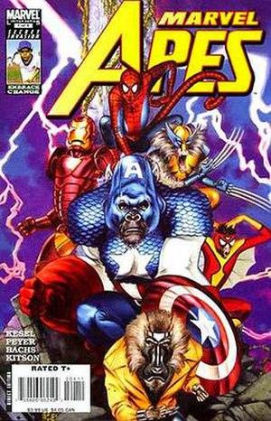 Marvel Apes - Image: Marvel Apes 1