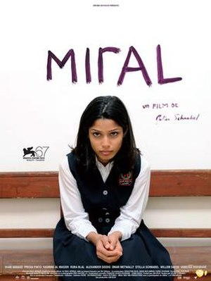Miral - French film poster