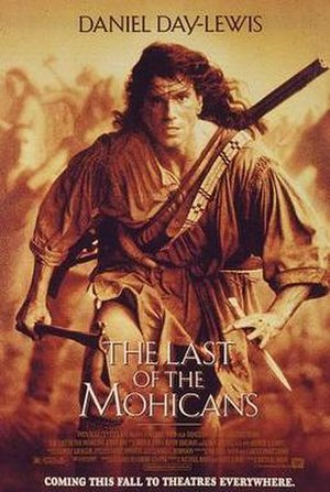 The Last of the Mohicans (1992 film) - Theatrical release poster