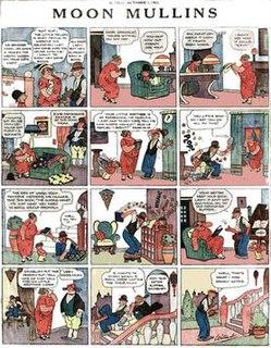 <i>Moon Mullins</i> 1923-1991 American comic strip