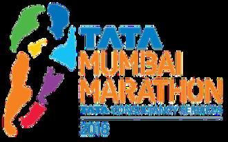 Mumbai Marathon - The logo for Mumbai Marathon