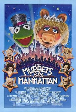 The Muppets Take Manhattan - Theatrical release poster