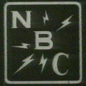 NBC Red Network - NBC Red/Blue's secondary 1930s logo, commonly seen on the network's microphone flags.