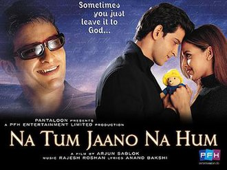 Na Tum Jaano Na Hum (2002) SL DM - Hrithik Roshan, Esha Deol, Saif Ali Khan