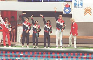 Natasha Aguilar Costa Rican swimmer