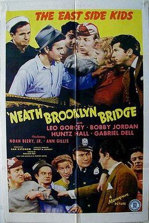 'Neath Brooklyn Bridge - Theatrical release poster